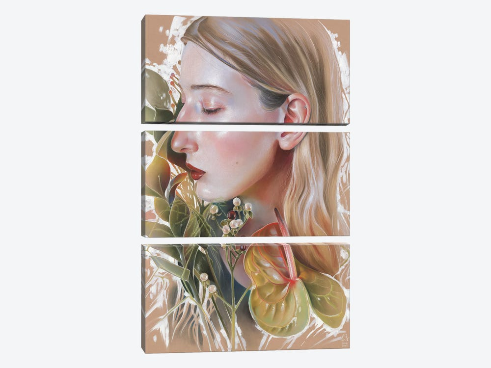 Kate Nomad by Eugenia Shchukina 3-piece Art Print