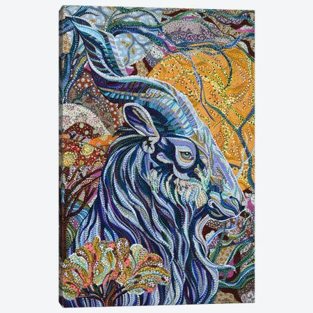 Full Moon Canvas Print #EVA13} by Ebova Canvas Artwork