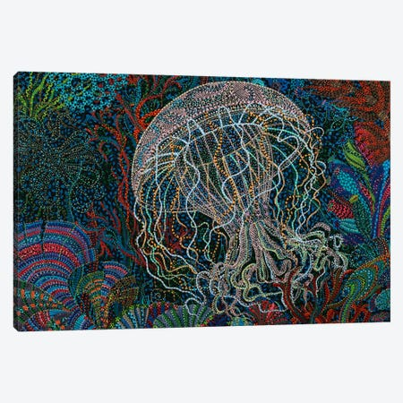 Jelly #3 Canvas Print #EVA19} by Ebova Canvas Artwork