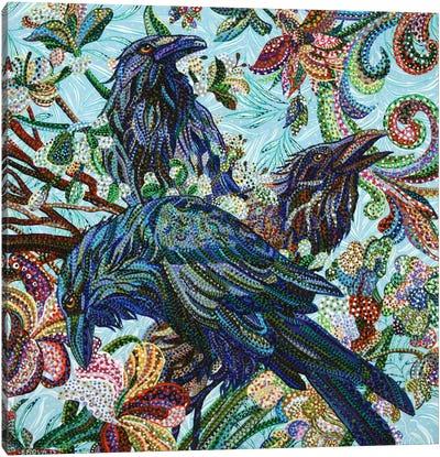 3 Birds Canvas Print #EVA1