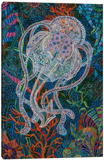 Jelly #5 Canvas Art Print