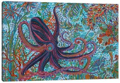 Octupus Canvas Art Print