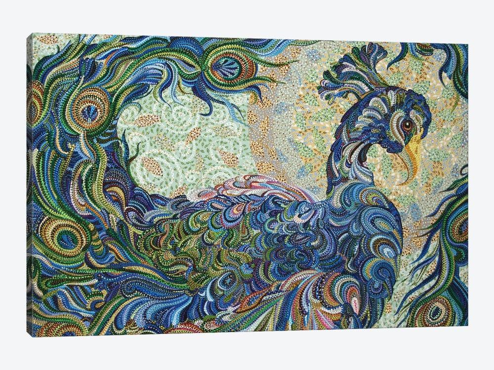 Peacock #2 by Ebova 1-piece Canvas Art