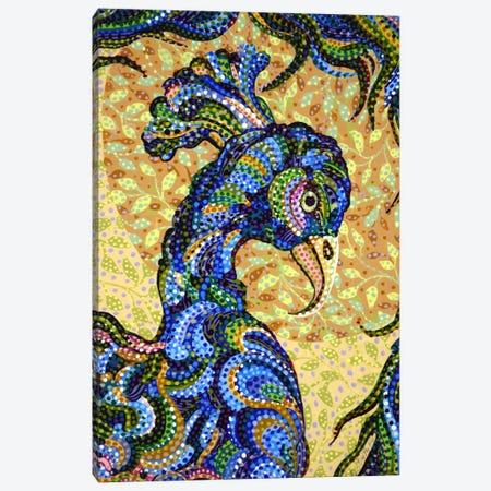 Peacockhead Canvas Print #EVA24} by Ebova Canvas Art