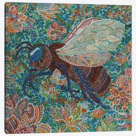 Pollenator Canvas Print #EVA26} by Ebova Canvas Art