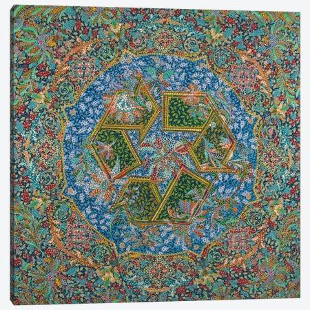 Recycle Canvas Print #EVA30} by Ebova Canvas Wall Art