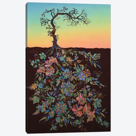 Sunset #1 Canvas Print #EVA33} by Ebova Canvas Art