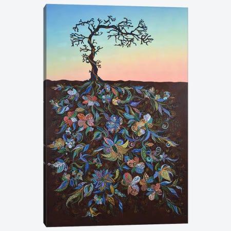 Sunset #2 Canvas Print #EVA34} by Ebova Canvas Print