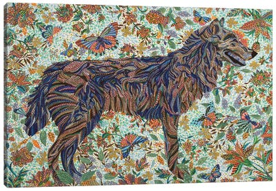 Tamed Canvas Art Print