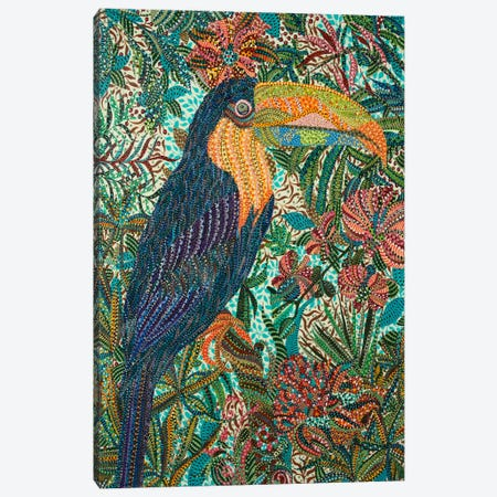 Toucan Canvas Print #EVA37} by Ebova Art Print