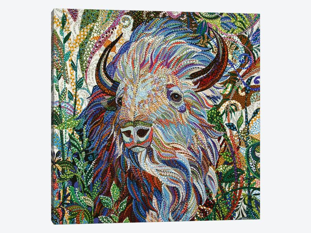 White Buffalo by Ebova 1-piece Art Print