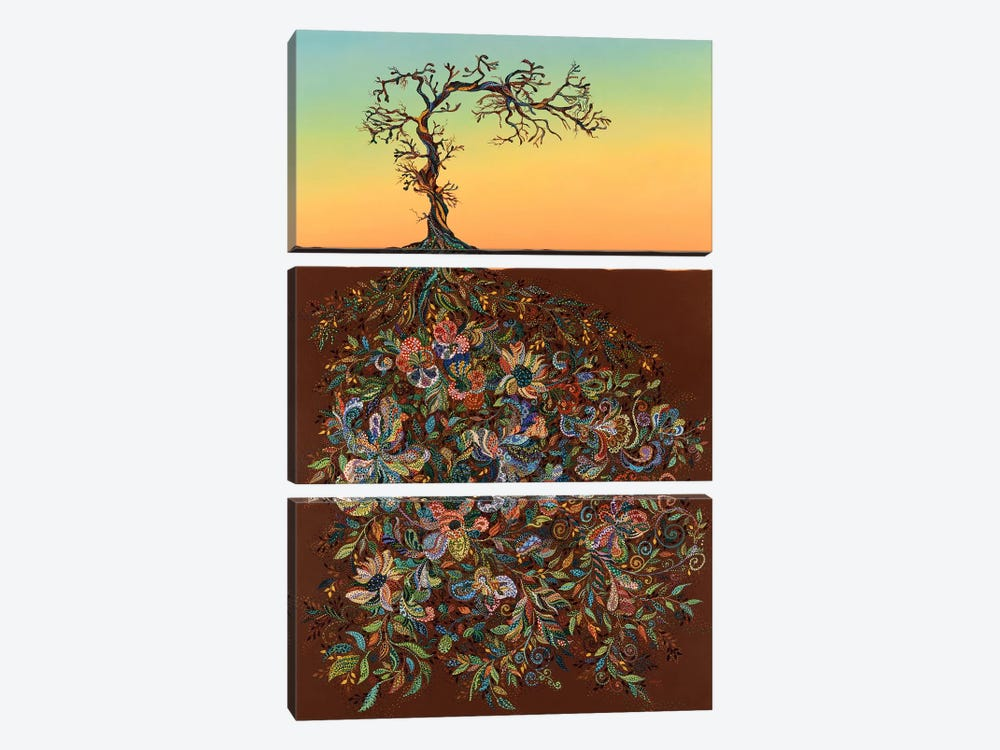 Sunset 14 by Ebova 3-piece Art Print