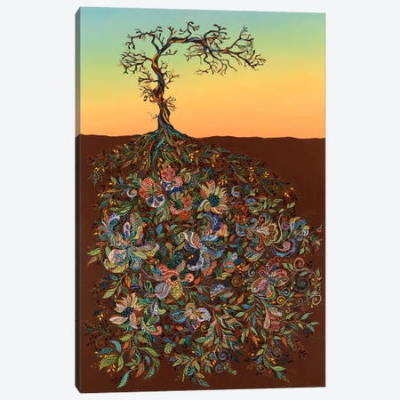 Sunset 14 Canvas Print #EVA42} by Ebova Canvas Print