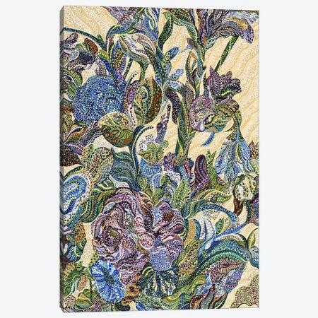 Floral Canvas Print #EVA45} by Ebova Canvas Art