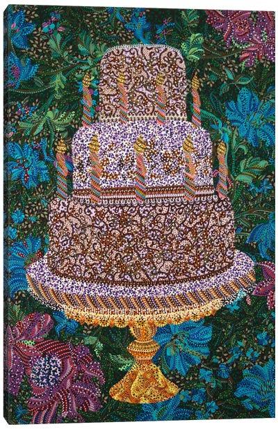Birthday Cake Canvas Art Print
