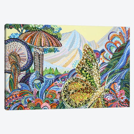 Blissful Canvas Print #EVA5} by Ebova Canvas Print