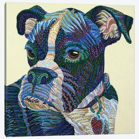 Boxer Portrait Canvas Print #EVA6} by Ebova Canvas Print