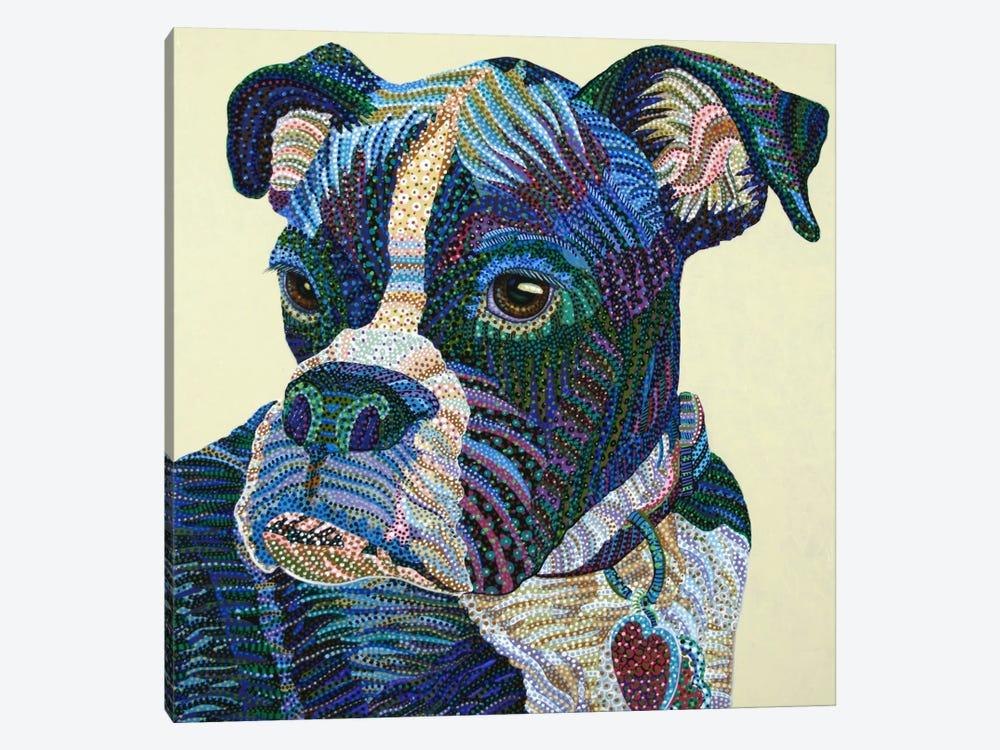 Boxer Portrait by Ebova 1-piece Art Print