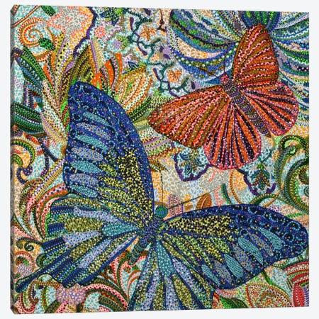 Butterflies Canvas Print #EVA7} by Ebova Canvas Art Print