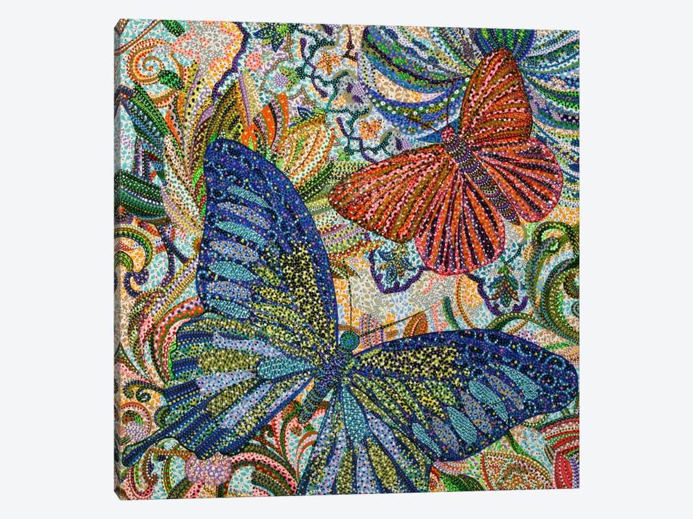 Butterflies by Ebova 1-piece Canvas Art
