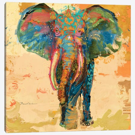 Animal Utopia III Canvas Print #EVD12} by Evelia Designs Canvas Print