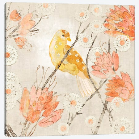 Avian Dreams III Canvas Print #EVD16} by Evelia Designs Canvas Artwork