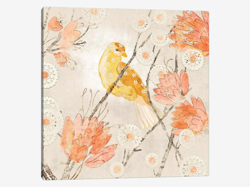 Avian Dreams III by Evelia Designs 1-piece Canvas Artwork