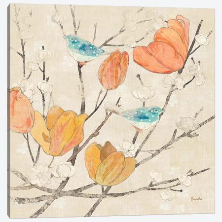 Avian Dreams IV Canvas Print #EVD17} by Evelia Designs Canvas Wall Art
