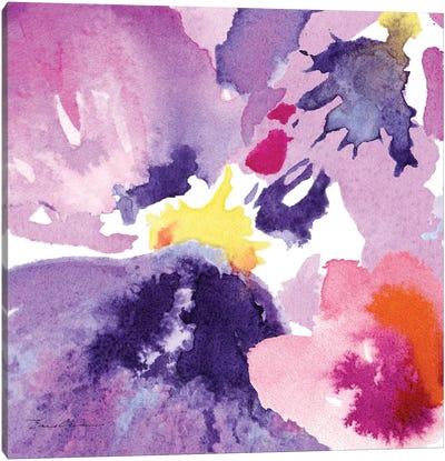 Watercolor Flower Composition IV Canvas Art Print