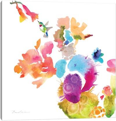 Watercolor Flower Composition IX Canvas Art Print