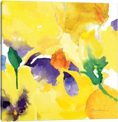 Watercolor Flower Composition V Canvas Art Print