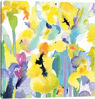 Watercolor Flower Composition VI Canvas Art Print