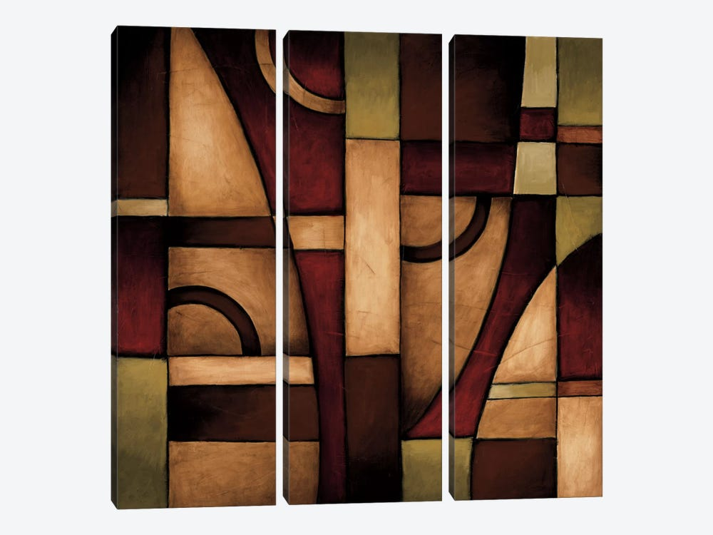 Connections II by Eve 3-piece Canvas Art Print