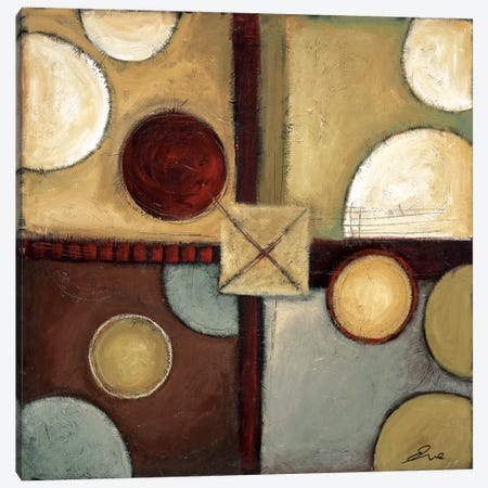 Groovin' Canvas Print #EVE17} by Eve Canvas Art Print
