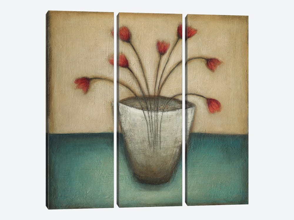 In Bloom II by Eve 3-piece Canvas Artwork
