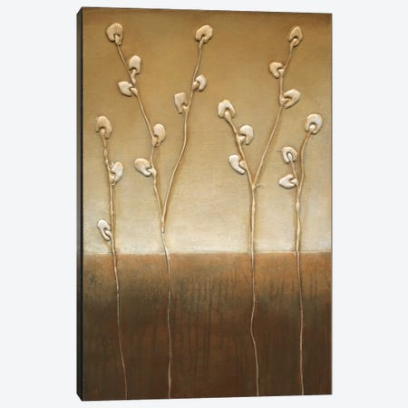 Pussy Willows I Canvas Print #EVE26} by Eve Canvas Artwork