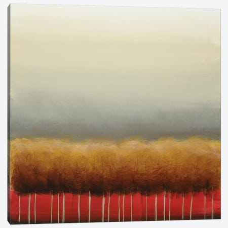 Red Light Canvas Print #EVE28} by Eve Art Print