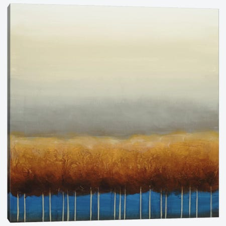 Blue Light Canvas Print #EVE2} by Eve Canvas Wall Art