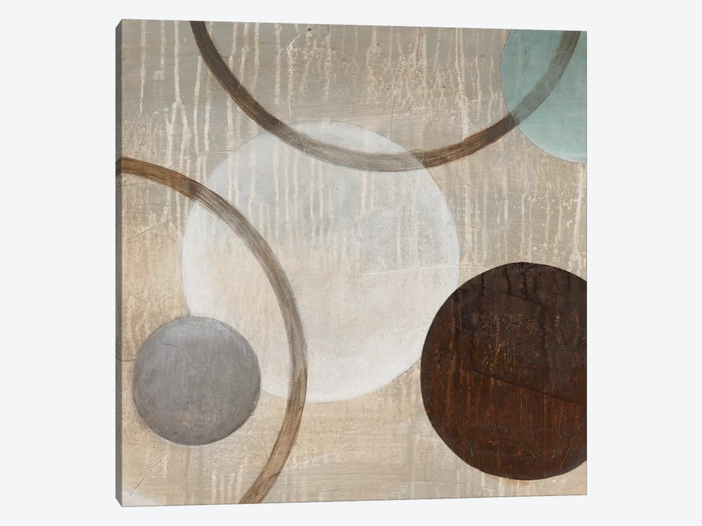 Revolutions I by Eve 1-piece Canvas Art Print