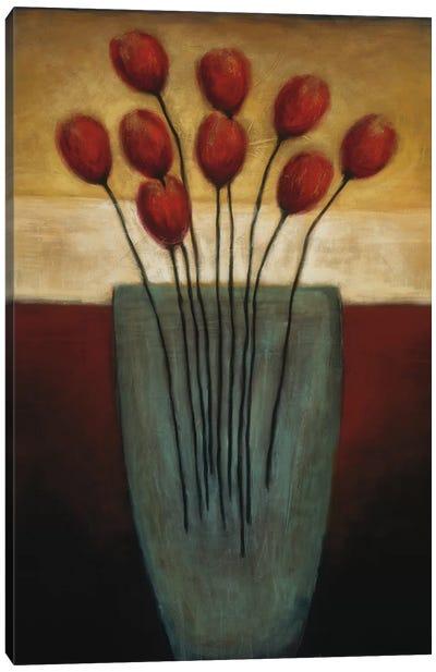 Tulips Aplenty II Canvas Art Print