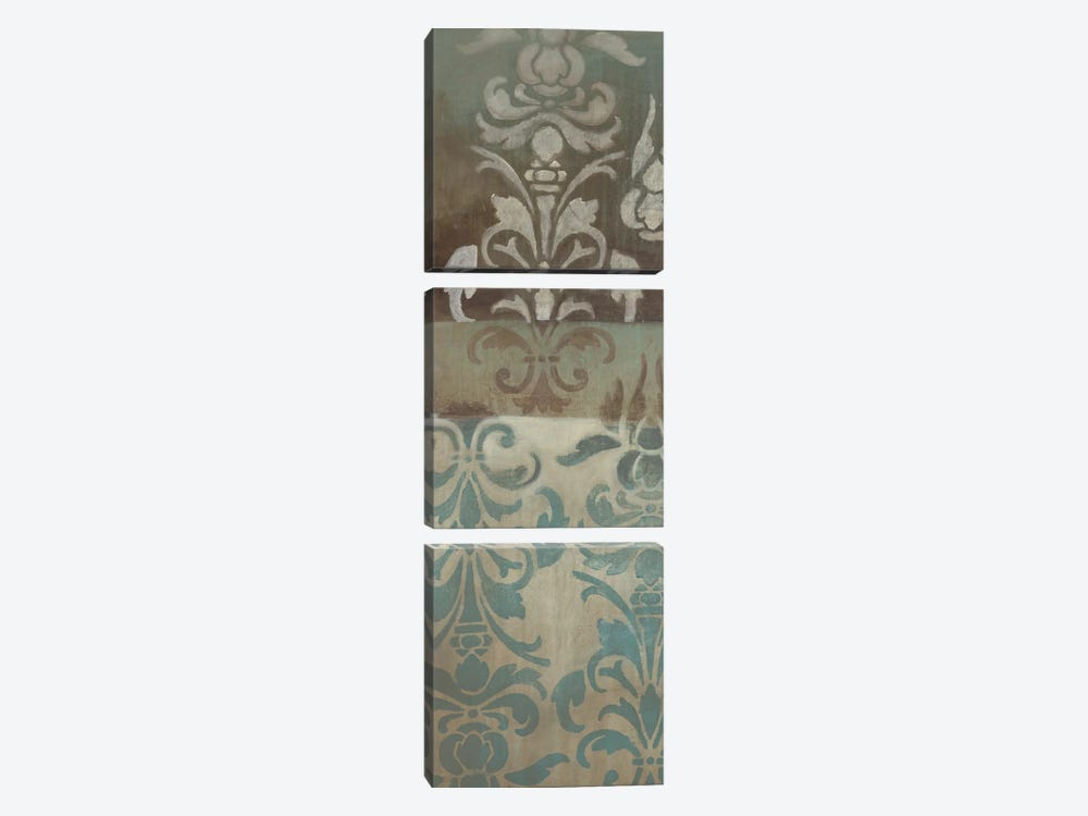 Brocade Inspirations I by Eve 3-piece Canvas Wall Art