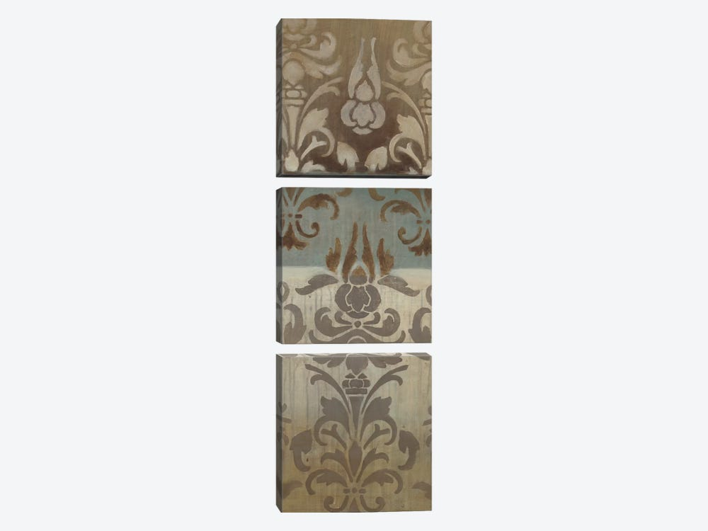 Brocade Inspirations II by Eve 3-piece Canvas Print