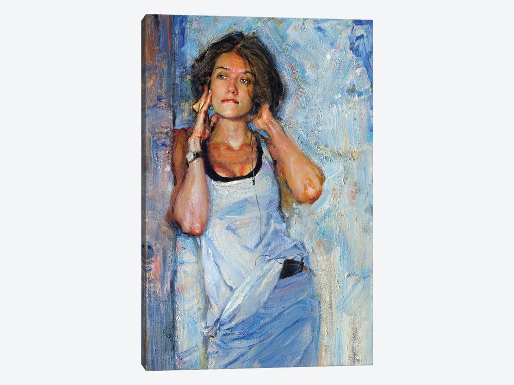 Music In My Mynd II: Listening by Evgeniy Monahov 1-piece Canvas Art