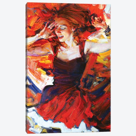 Music In My Mynd III: Dancing Canvas Print #EVG15} by Evgeniy Monahov Canvas Art Print