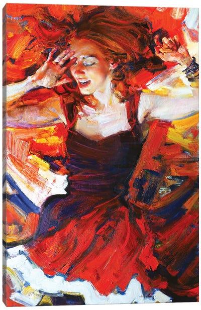 Music In My Mynd III: Dancing Canvas Art Print