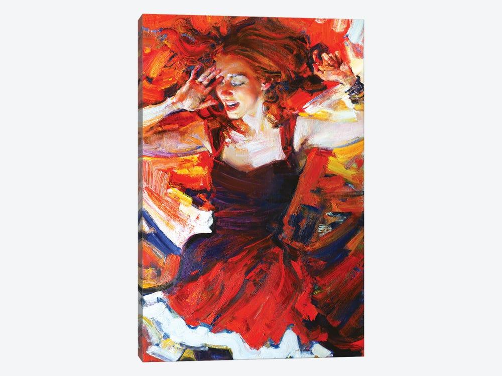 Music In My Mynd III: Dancing by Evgeniy Monahov 1-piece Canvas Print