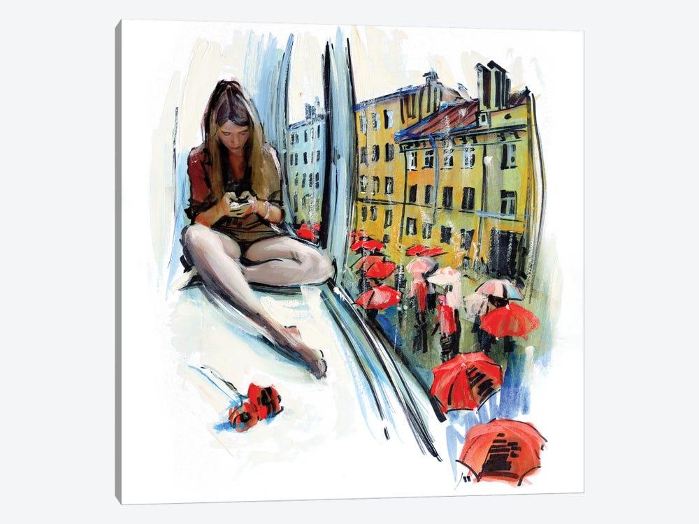 Rain In Saint Petersburg by Evgeniy Monahov 1-piece Art Print