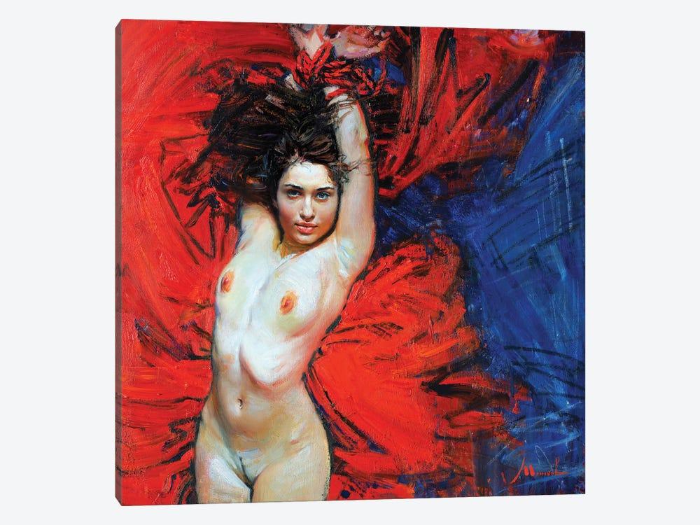 Affection by Evgeniy Monahov 1-piece Canvas Artwork