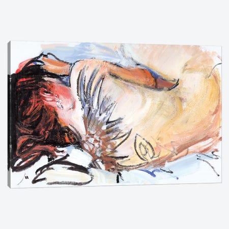 Sleeping Canvas Print #EVG22} by Evgeniy Monahov Art Print