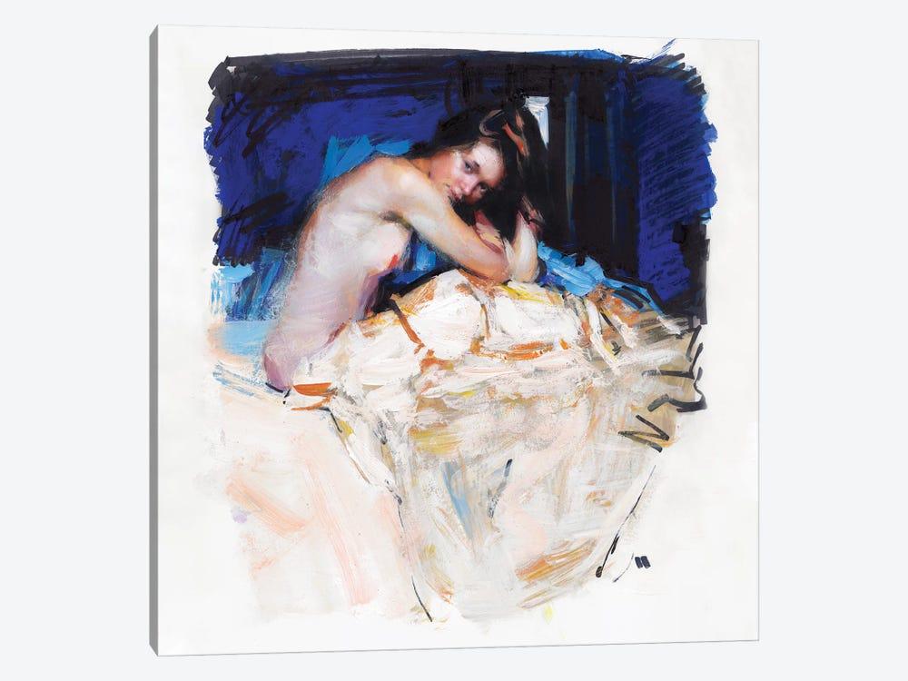 Sleepy Girl by Evgeniy Monahov 1-piece Canvas Art